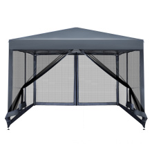 See-through gazebo tent 3x3 mosquito net tent